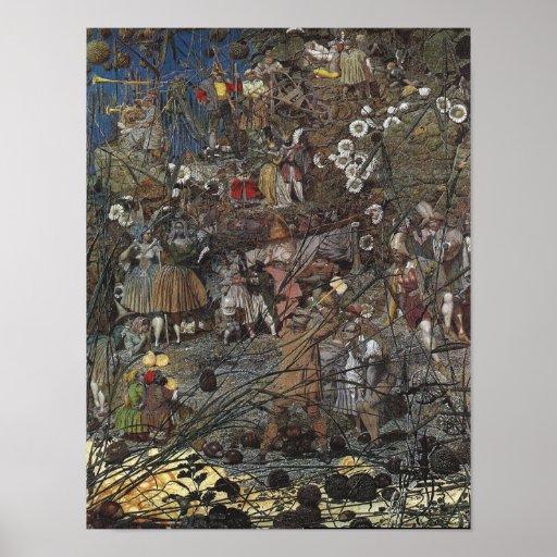 Faerie Poster/Print: Fairy Fellers' Master Stroke