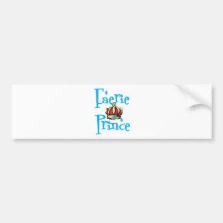 Faerie-Prince Bumper Stickers