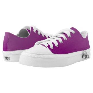 Faerie Purple Nevaeh Custom Zipz Low Top Kickers