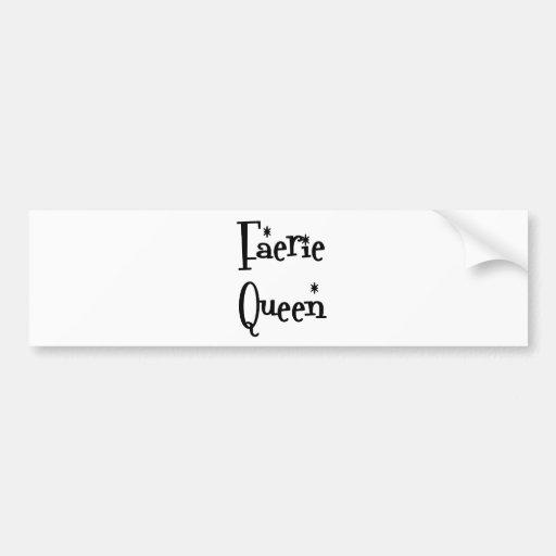 Faerie-Queen Bumper Stickers