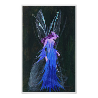 Faerie Queen Painting Poster
