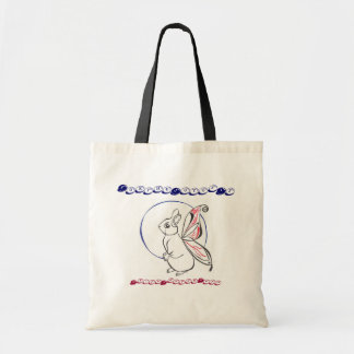 Faerie Rabbit Tote Bag