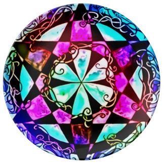 Faerie Sight Mandala Porcelain Plates