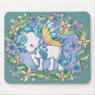 Faerie Unicorn Mouse Pad