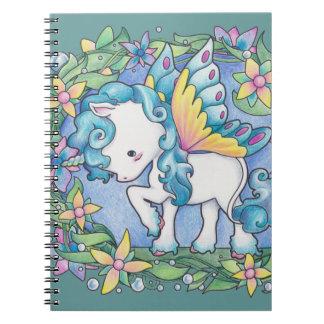 Faerie Unicorn Notebooks
