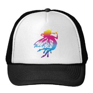 Faerie with beautiful colors hats