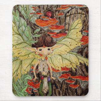 Faerie with wings mouse pad