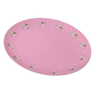 Faeries and Polkadots Plate