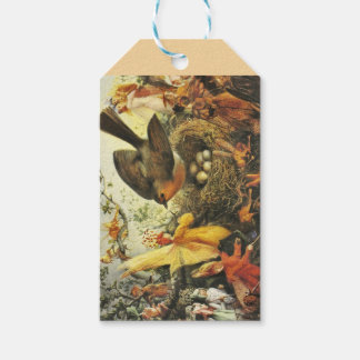 Faeries and Robin Nest Gift Tags