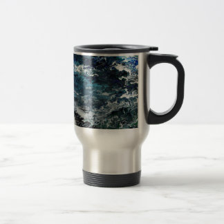 Faeries Aquatica Abstract Travel Mug