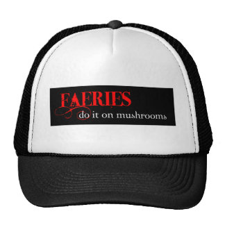 Faeries are so funny! mesh hats
