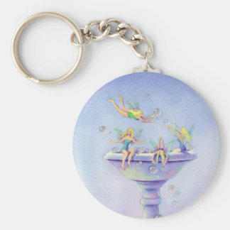 FAERIES BUBBLEBATH by SHARON SHARPE Keychain