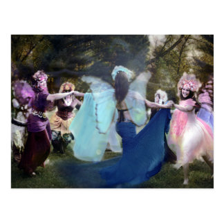 Faeries Dancing by Cheryl Fair Postcard