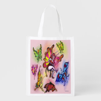 Faeries Grocery Bag