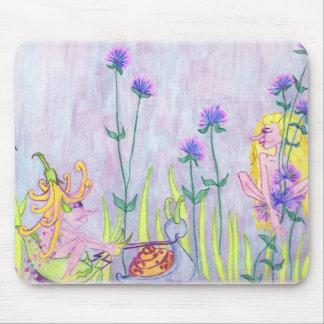 Faeries In A Garden Mousepad