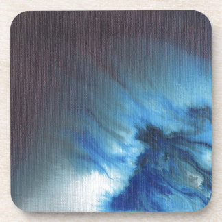 Faerie's Night Flight Abstract Beverage Coaster