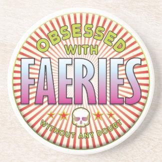 Faeries Obsessed R Drink Coasters