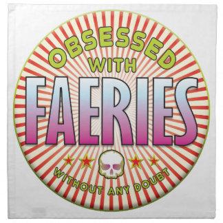 Faeries Obsessed R Napkins