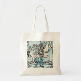 Faeries on Horseback Canvas Bag
