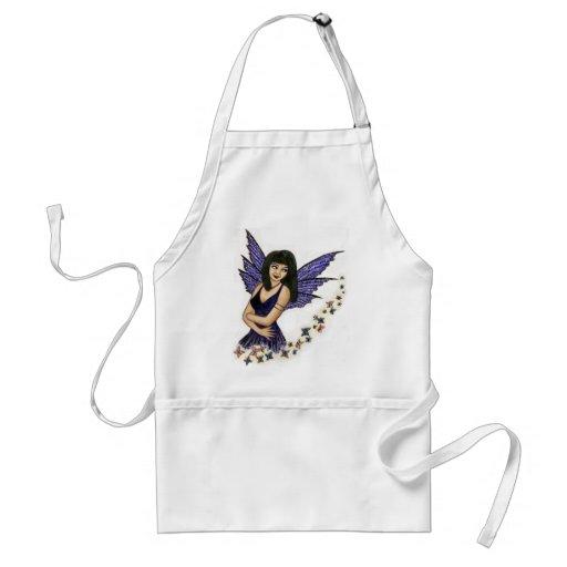 faery butterflies apron