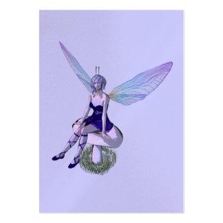 faery fantasy profile card business cards