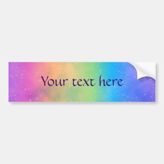 Faery Fun Day Pixel Art Bumper Sticker