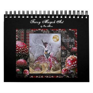 Faery Magick Art Wall Calendar