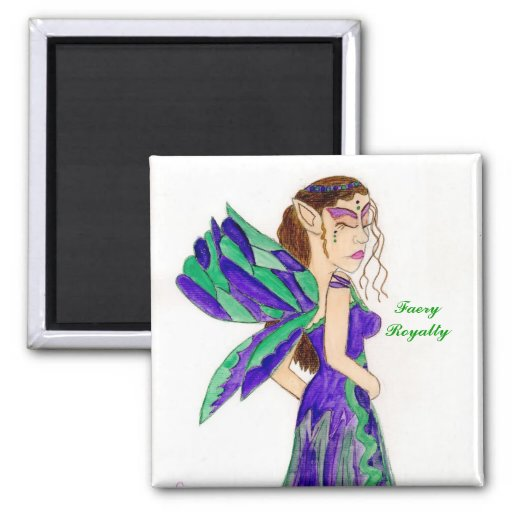 Faery Queen, FaeryRoyalty Magnet