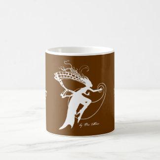 Faery Silhouette Basic White Mug