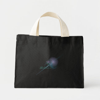 Faery Wand Abstract Art Mini Tote Bag