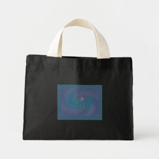 Faery Wand Abstract Art Mini Tote Bag