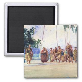 'Fagaloa Bay, Samoa, 1890' - John LaFarge Magnet