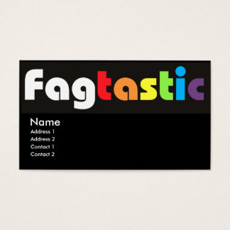 Fagtastic Business Cards