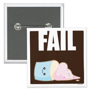 Fail 2 Inch Square Button