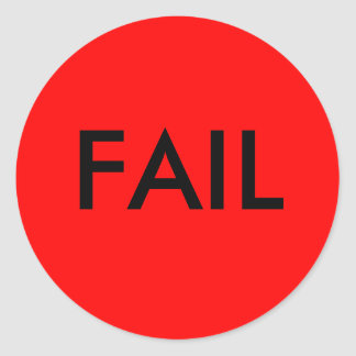 FAIL Stickers