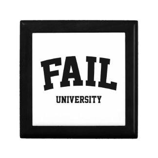 Fail University Keepsake Box