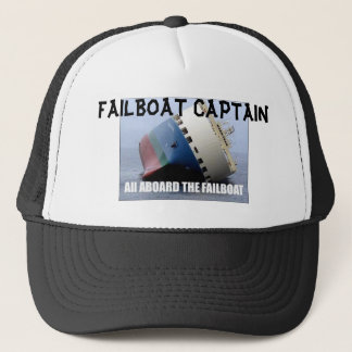 failboat, FAILBOAT CAPTAIN Trucker Hat
