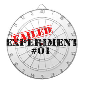 Failed Experiment Dartboards