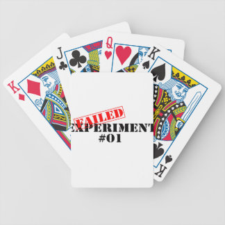 Failed Experiment Poker Deck