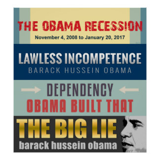 Failed President Obama Print