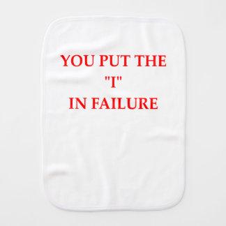 FAILURE BURP CLOTH