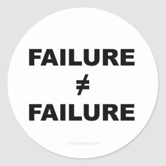 Failure does not equal Failure - Sticker