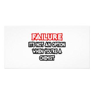 Failure Not an Option Chemist Photo Cards