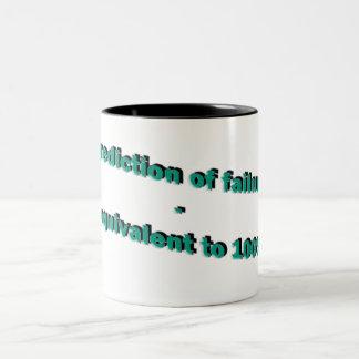 failure Two-Tone coffee mug