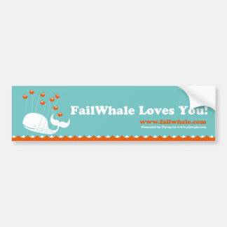 FailWhale Bumper stickers