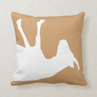 Fainting Goat Throw Pillow
