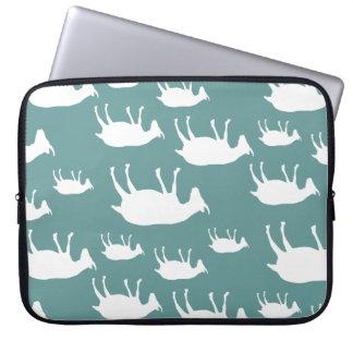 Fainting Goats Laptop Sleeve