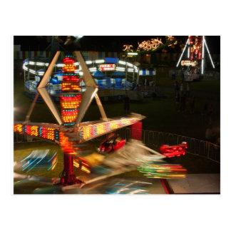 Fair and Fireworks Postcard
