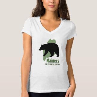 Fair Bear Hunt Bella V-Neck Tee