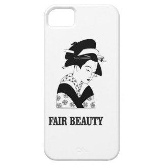 fair beauty woman iPhone 5 case